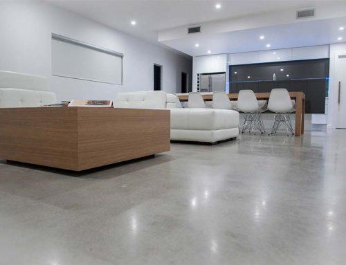 A csiszolt betonpadló jó választás
